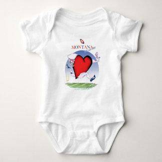 montana head heart, tony fernandes baby bodysuit