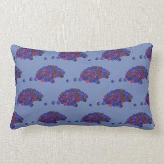 Montana Huckleberries Blue Huckleberry Fruit Berry Lumbar Cushion