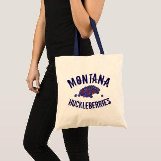 Montana Huckleberries Blue Huckleberry Fruit Berry Tote Bag