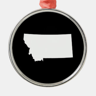 Montana in White and Black Ornament