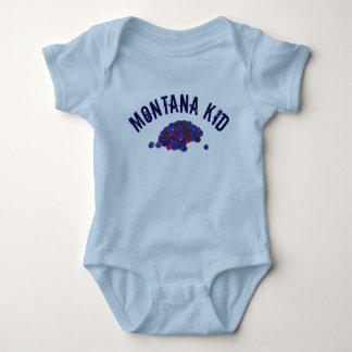 Montana Kid Huckleberries Blue Huckleberry Fruit Baby Bodysuit