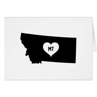 Montana Love Card