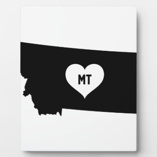 Montana Love Plaque