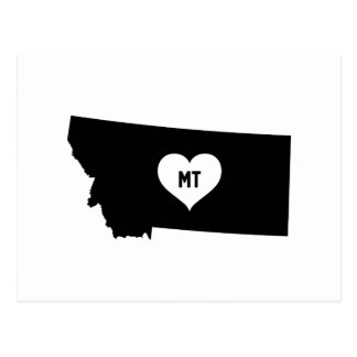 Montana Love Postcard