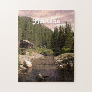 Montana Mining Jigsaw Puzzle