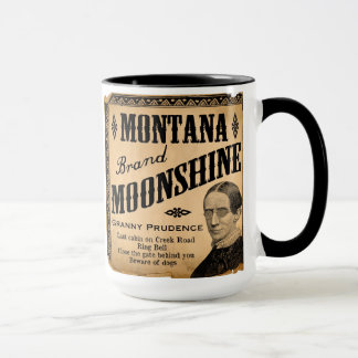 Montana Moonshine Coffee Tea Mug