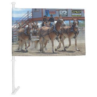 Montana Mule Days June 2016 Car Flag