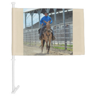 Montana Mule Days June 2016 Car Flag
