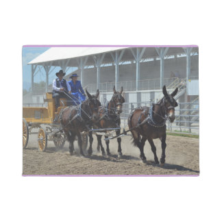 Montana Mule Days June 2016 Doormat