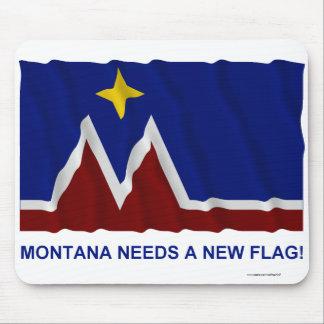 Montana Needs a New Flag Mouse Pad