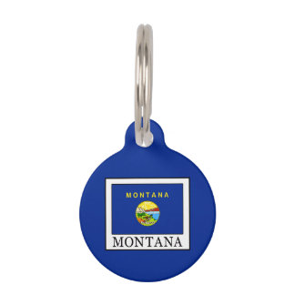 Montana Pet ID Tag