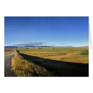 Montana Plains Card