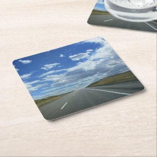 Montana Plains Square Paper Coaster