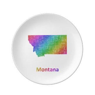 Montana Porcelain Plates