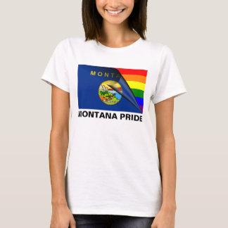 Montana Pride LGBT Rainbow Flag T-Shirt