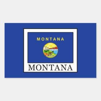 Montana Rectangular Sticker