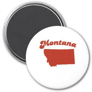 MONTANA Red State Fridge Magnet
