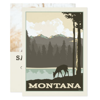 Montana | Save the Date - Photo Card