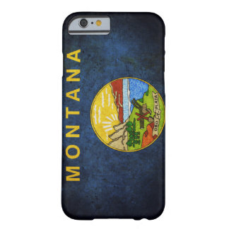 Montana state flag barely there iPhone 6 case