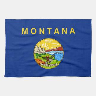 Montana state flag usa united america symbol kitchen towels