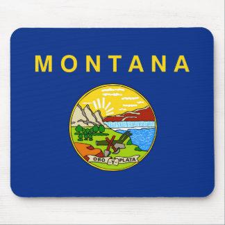 Montana state flag usa united america symbol mouse pad