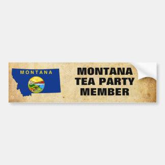 MONTANA TEA PARTY BUMPER STICKER
