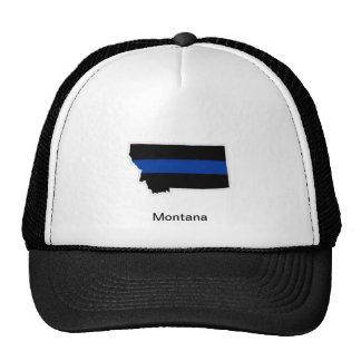 Montana Thin Blue Line Trucker Hat