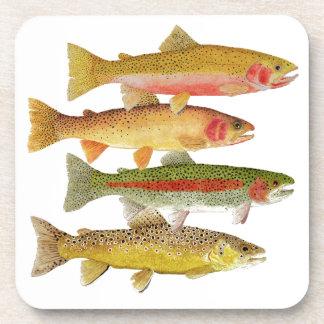 Montana Trout Coasters