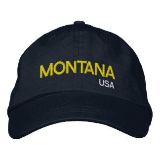 Montana* USA Navy Blue Baseball Cap