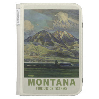 Montana USA Vintage Travel cases Cases For The Kindle