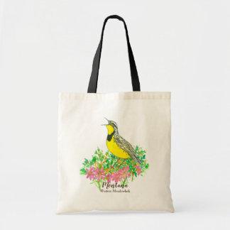 Montana Western Meadowlark Bitterroot Tote Bag