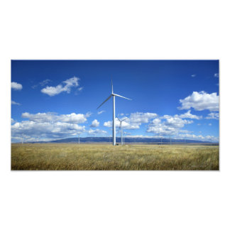 Montana Windmills Photo Print