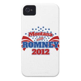 Montana with Romney 2012 iPhone 4 Case