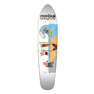 Montauk BeverageWorks Longboard Deck Skateboard