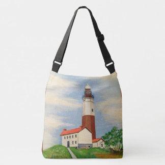 Montauk Lighthouse Cross Body Bag