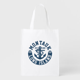 Montauk Long Island Reusable Grocery Bag
