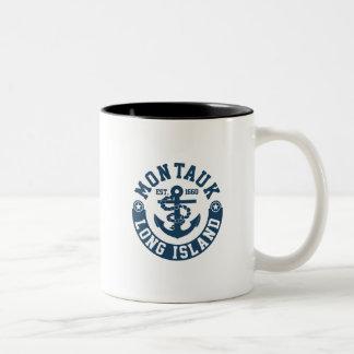 Montauk Long Island Two-Tone Coffee Mug