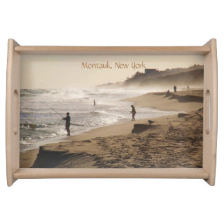 Montauk, New York photo Serving Tray