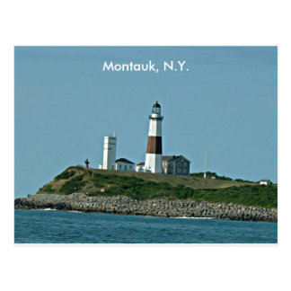 Montauk New York Postcard