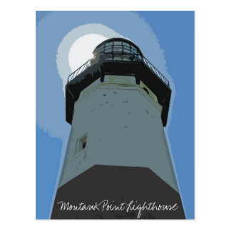 Montauk Point Lighthouse Postcard