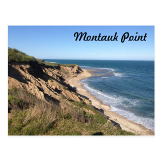Montauk Point Postcard