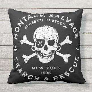 Montauk Salvage Company Pillow