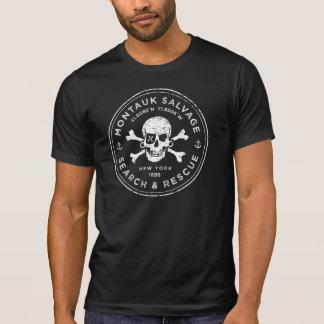 Montauk Salvage Company Skull T-Shirt