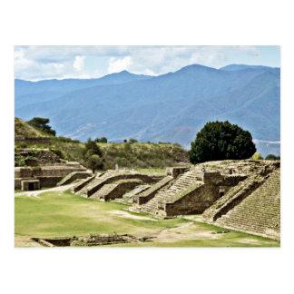 Monte Alban Complex Postcard