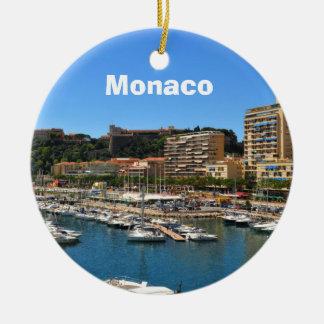 Monte Carlo in Monaco Ceramic Ornament