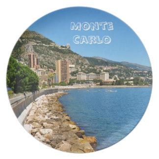 Monte  Carlo in Monaco Plate