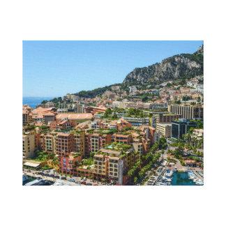 Monte Carlo Monaco Canvas Print