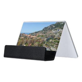 Monte Carlo Monaco Desk Business Card Holder