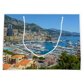 Monte Carlo Monaco Large Gift Bag