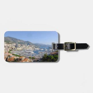 Monte Carlo Monaco Personalize Travel Bag Tag